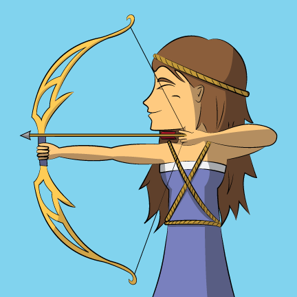 artemis symbol of power
